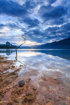 Sun Moon Lake, Taiwan Where I spent Christmas with my beastie!
