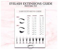 Simple guide of eyelashes extensions. Curl Lashes, Fake Eyelashes, Curling Eyelashes, Diy Nails Stickers, Hair Curlers Rollers, Eyelash Technician, Eyelash Extensions Styles, Makeup Brush Storage, Lash Room