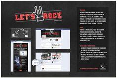 Let's Rock: ação de internet desenvolvida para a rádio Guarani FM no dia do rock em 2012.