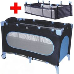Reisebett + Einhang Kinderbett Kinderreisebett Babyreisebett Kind Baby Bett