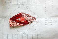 technique de couture sur papier