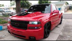 Chevy Trucks Lowered, Custom Chevy Trucks, Dually Trucks, Gm Trucks, Cool Trucks, Pickup Trucks, Chevy Silverado Single Cab, Silverado Truck, Chevrolet Silverado