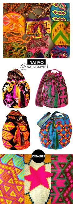 386f5dea8 Achados da Bia | Acessório | Bolsa étnica | Nativo Style | Miss Mochila Bolsa  Étnica