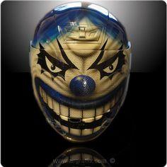 Blue Wicked Clown
