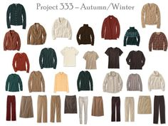 The Vivienne Files: Project 333: warm colors, step by step - a capsule wardrobe in my chosen colors!