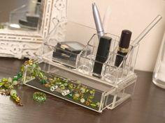 Make-Up Tidy & Jewellery Drawer - Bathroom Vanity Accessories | Make Up Organisers | Cosmetic Storage | Jewellery Organisers