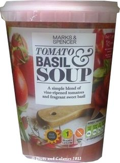Tomato & Basil Soup from Marks & Spencer