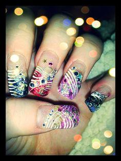 3D Gel Chanel Nails