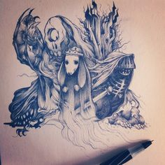 The ghost of Princess Bunny by HABBENINK , via Behance