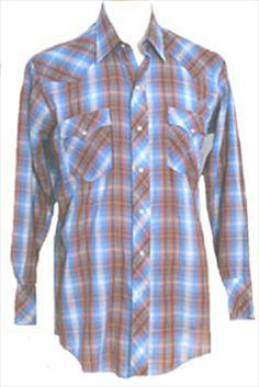 Chute #1 Cowboy Western Shirt