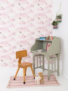 Wander Woods Wallpaper by Sarah Jane Studios at Gilt