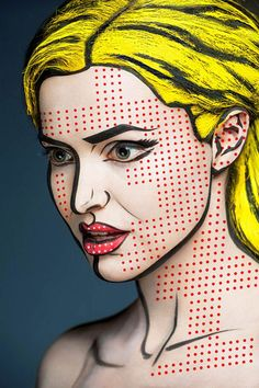 Com ajuda de maquiagem, Alexander Khokhlov cria série ao transformar rostos em pinturas 2D http://followthecolours.com.br/art-attack/com-ajuda-de-maquiagem-alexander-khokhlov-cria-serie-ao-transformar-rostos-em-pinturas-2d/