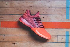 """The adidas Harden Vol. 1 """"Red Glare"""" Reflects """"The Beard's"""" Red-Hot Performances on Court"""