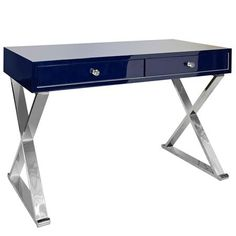 Modern X Desk