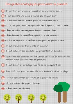 French Lessons For Beginners, 5th Class, Earth Day Activities, French Language Learning, Teaching French, Learn French, Reading Comprehension, Book Lovers, Journal