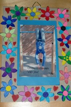 vaderdag, ik ben ondersteboven van jou Easy Fall Crafts, Fun Crafts, Diy And Crafts, Diy For Kids, Crafts For Kids, Fathersday Crafts, Family Presents, Kids Class, Mother And Father