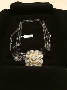 CHANEL NWT GOLD AND SILVERTONES WITH CLEAR CRYSTALS & PENDANT NECKLACE. Free shipping and guaranteed authenticity on CHANEL NWT GOLD AND SILVERTONES WITH CLEAR CRYSTALS & PENDANT NECKLACE at Tradesy. THIS AUTHENTIC NWT CHANEL GOLD AND SILVERTONES WIT...