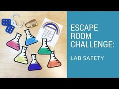 Your students will love starting the school year with the Lab Safety Escape Room! It allows them to demonstrate their knowledge of safe lab procedures in a fun and engaging way. 7th Grade Science, Middle School Science, Elementary Science, Science Classroom, Teaching Science, Science Education, Science Fun, Physical Science, Science Experiments