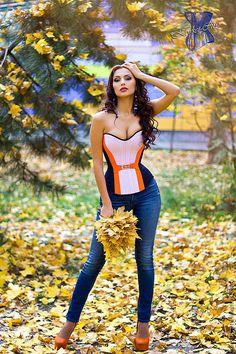 Купить Утягивающий корсет «Элегия» повседневный из костюмной ткани - корсет, корсет утягивающий, корсет на заказ