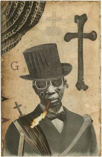 "Hoodoo Magick Rootwork:  ""#Baron #Samedi,"" by Stefan Danielsson."