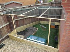 Outdoor Habitat for Tortoise | After approx 1200 staples later the enclosure is finally preditor ...