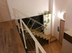 scala a giorno bianca, con gradini in legno  SCALE A GIORNO ...