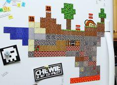 Minecraft Fridge Magnet Set