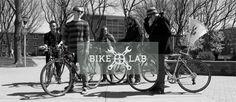 Bike Lab by James McDonough, via Behance