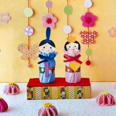 Preschool Crafts, Diy For Kids, Japanese, Activities, Dolls, Christmas Ornaments, Holiday Decor, Baby Dolls, Japanese Language