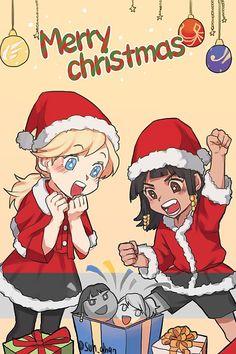 """써나 on Twitter: """"파라메르 크리스마스 !! 커미숀입니닷 엽서용이라 이미지줄이구 부분흑백처리 했어요 ㅇ///ㅇ 태림님 이번에두 믿고 맡겨주셔서 감사합니닷 ♥ 행복한작업이었어요 ..... https://t.co/uvorepRbyp"""""""