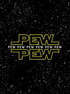 The official sound effect of Star Wars.