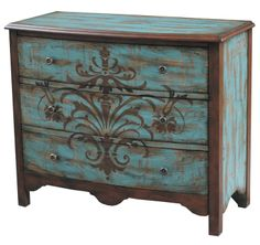 painted drawer chest