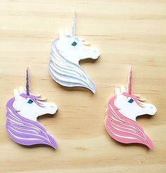 Unicorn Brooch - Deer Arrow