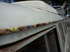 cool idea for a non-show worthy vwbus... ♠ re-pinned by http://www.wfpblogs.com/category/toms-blog/