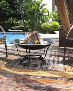 Crosley Outdoor Buckner Firepit - Outdoor Living - Outdoor Heating & Cooling - Firepits