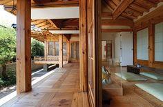 "han-nara: ""Traditional Korean Hanok home interior. Asian Interior Design, Asian Design, Japanese Architecture, Interior Architecture, Home Design Diy, House Design, Japanese House, Traditional House, Korean Traditional"