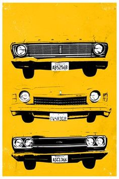 Grills Poster (Yellow) via The Poster List