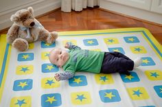 Mint & lilac, baby boutique: Kush-ee mat in Star Bright by On the Gro, kush-ee mats Baby Boutique, Lilac, Kids Rugs, Boys, Decor, Baby Boys, Decoration, Kid Friendly Rugs, Lilac Bushes