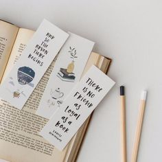 Tea and books bookmark. There is no friend as loyal as a book bookmark. All come in sets of Australian made stationery and gift ware by In the Daylight. Bookmarks For Books, Creative Bookmarks, Paper Bookmarks, Cute Bookmarks, Watercolor Bookmarks, Diy Marque Page, Bookmark Craft, Bookmark Ideas, Book Markers