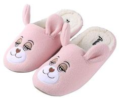 ca8747a25e60 SUMACLIFE Adult s Flopsy Plush Teddy Bear Cozy House Slippers for Indoors