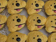 where's spot cupcakes from the NZ cupcake queen - perky nana cupcakes with banana frosting