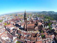 Münster von oben Paris Skyline, Travel, Freiburg, Viajes, Destinations, Traveling, Trips