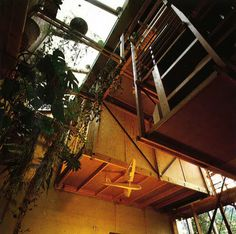 The house built on Bygdøy, Oslo, is a reverence to Terje Moe's ideology of habitation. The 'Kube hus', as the house is called, was built in Moe constructed the building hims… Jungle House, House Built, Oslo, Building A House, Fair Grounds, Construction, Architecture, Places, Travel
