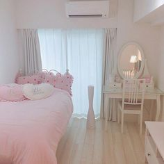 fotinhas kawaii que a baby tem no celular Cute Room Decor, Pastel Room, Pink Room, Japanese Bedroom, Japanese Living Rooms, Kawaii Bedroom, Aesthetic Room Decor, Aesthetic Girl, Girl Rooms
