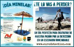 ¡¡Día Minelab en Benicassim el 16 de mayo!! ¿Te lo vas a perder? #Eurodetection #DetectorMetal #Minelab #DíaMinelab #España #Hobby