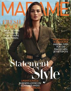 c75934ad4510 Bruna Tenerio featured on the Madame cover from March 2016 Magazine Cover  Page
