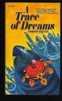 82070 GORDON EKLUND A Trace of Dreams (interior illustration by Jack Gaughan; 1972).#