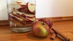 Æblesnaps på glas