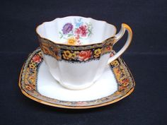 Antique Cup and Saucer   by  Royal Paragon     Fine by lasadana, $139.99