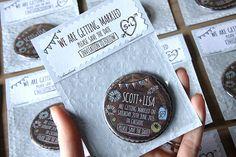 WHIMSICAL WOODLAND Save the Date 58mm von WeddingSavetheDates
